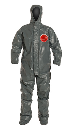 DuPont Tychem' 6000 FR Gray Coverall - TP199T GY BOOT