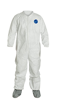 DuPont Tyvek' 400 White Coverall - TY121S WH NS