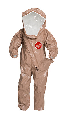 DuPont Tychem' 5000 Tan Coverall - C3525T TN BOOT