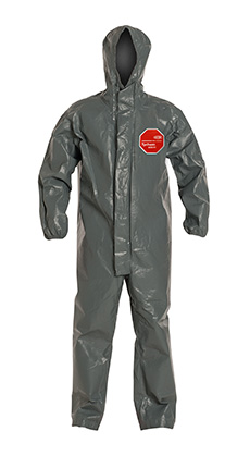 DuPont Tychem' 6000 FR Gray Coverall - TP198T GY BN