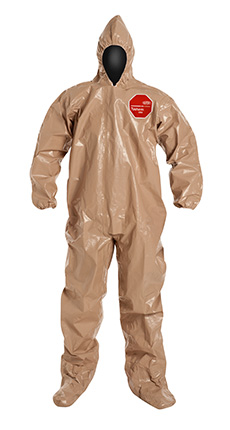 DuPont Tychem' 5000 Tan Coverall - C3122T TN