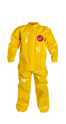 DuPont Tychem' 9000 Yellow Coverall - BR125T YL
