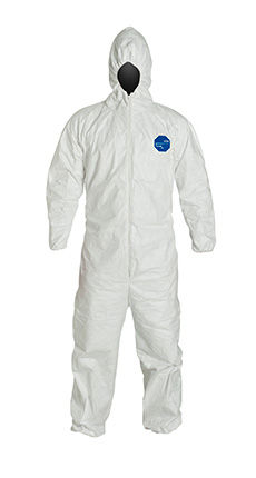DuPont Tyvek' 400 White Coverall - TY127S WH Nf