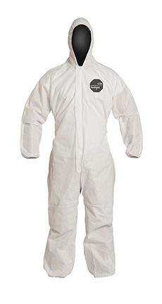 DuPont ProShield' 10 White Coverall - PB127S WH