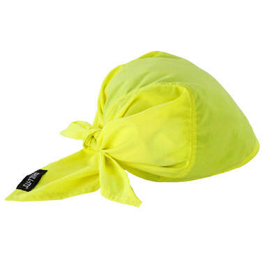 Ergodyne Chill-Its 6710CT Lime Evap  Cooling Triangle Hat w/CT