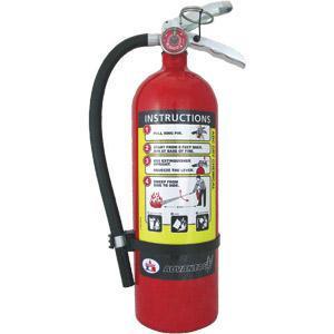 Abc Fire Extinguisher >> Badger Advantage 5 Lb Abc Fire Extinguisher W Wall Hook
