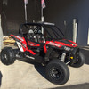 """SDR """"Shorty"""" Cage shown with optional roof light pocket and LED Light Bar (Not Included)"""
