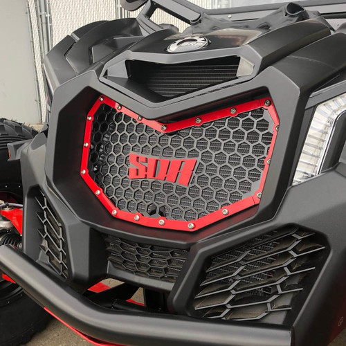 X-3 Bolt-in Grille Kit | Can-Am Maverick X3