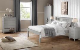 Dove Grey Bedstead