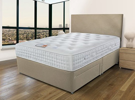 The 2000 pocket Natural Firm support divan Set