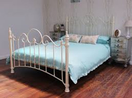 "The Florence Bedstead From £225.00 (4'6"" size)"