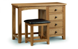 The Rothmans Single Pedestal dressing Table £279.95