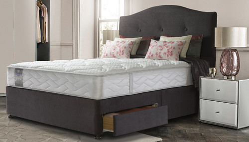 """Sealy Wool Support Divan set £449.95 (3'0"""" size)"""
