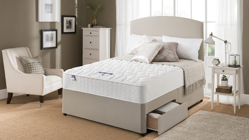 """The Silentnight Shelly Divan Set From £449.95 (3'0"""" size)"""