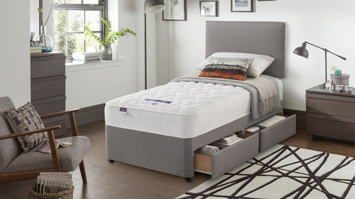 "The Silentnight Twinstore Divan Set From £349.95 (3'0"" size)"