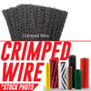 """59440: 45"""" Cylindrical Brush 8 Double Row Crimped Wire fits Tennant Models 355, 355E, 385, 6500, 6550, 6600, 6650, 8400, 8410, S30"""