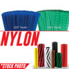 "66018: 45"" Cylindrical Brush 5 Double Row Nylon Patrol fits Tennant Models 355, 355E, 385, 6500, 6550, 6600, 6650, 8400, 8410, S30"