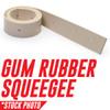 1014093: Squeegee, Rear, Tan Gum fits Tennant Models T3, T3+, T5E