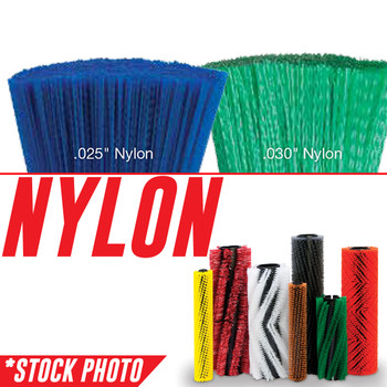 "53069: 42"" Cylindrical Brush 5 Double Row Nylon Patrol fits Tennant Models 240, 250, 255, 260, 265, 275, 275SE, 280"