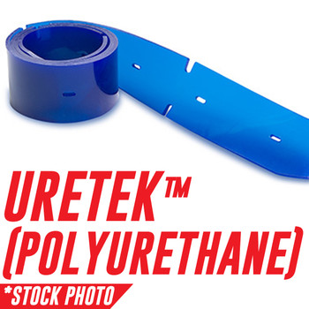 """12472: Squeegee Assembly, Side, Urethane fits Tennant Models 530E, 7080 28"""", 7080 32"""", 7100 28"""", 7100 32"""", 7200, 7400, T7 26"""", T7 32"""""""