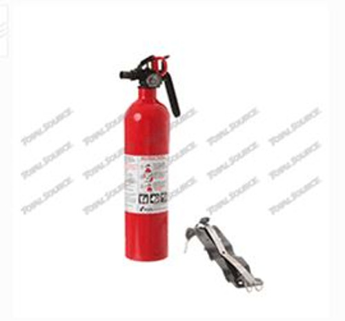 90273 | FIRE EXTINGUISHER with Metal Strap Bracket- 2.5 LB 1A.10B:C