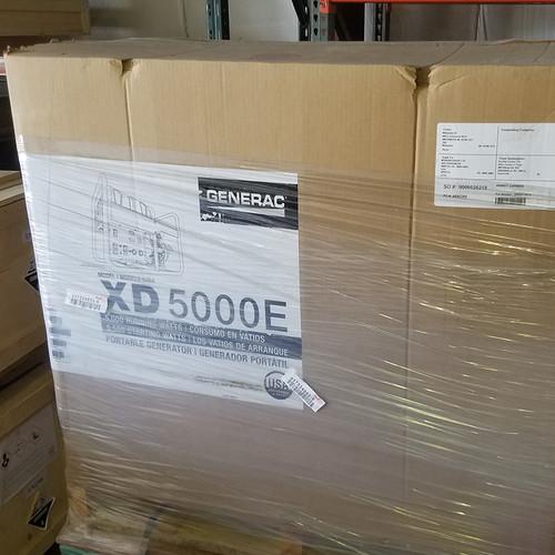 Generac XD5000E 5000 Watt Diesel Portable Generator