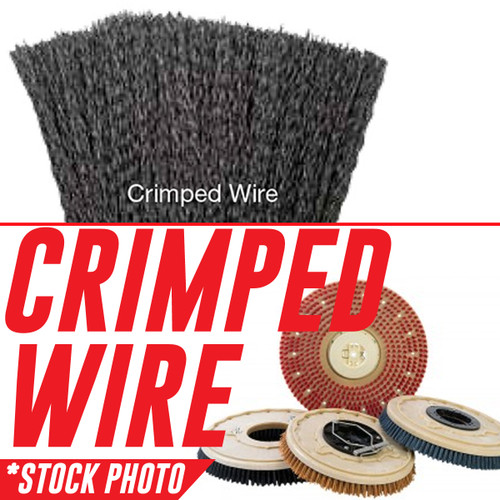 """05034, 1042491: 12"""" Rotary Brush Wire fits Tennant Models 1465, 465"""