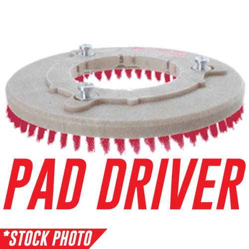"""13-421D: 12"""" Rotary Brush Pad Driver  fits Tomcat Models 2500D, GTX 26D, Magnum 26D, RS 26"""