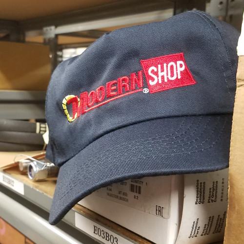 Modern Shop Cap   Navy Blue
