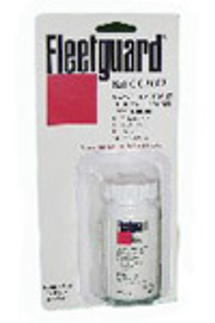 CC2602M: Fleetguard 3-Way Test Strip, 50/Bottle - Metric Version Coolant Test Kit