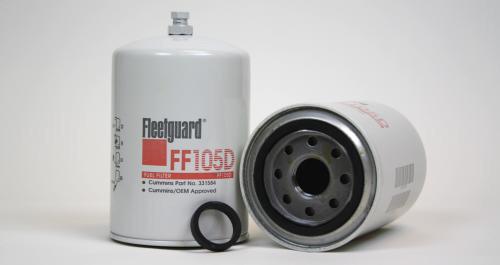 FF105D: Fleetguard Spin-On Fuel Filter