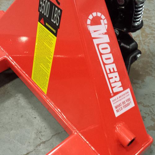 Modern Pallet Jack 27x48 5500 lbs