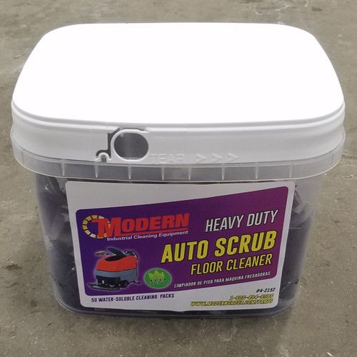 Modern Auto Scrub Cleaning Packs (50 Count)
