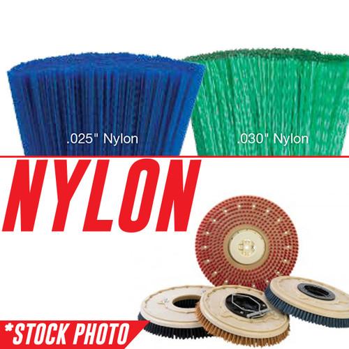 "11-421N: 10"" Rotary Brush .028"" Nylon fits Factory Cat Models 21, 2100"
