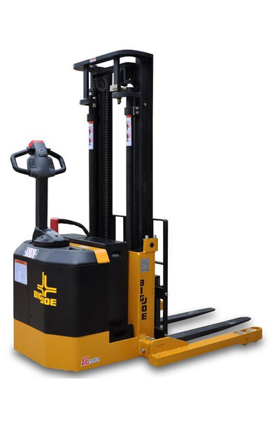 Big Joe PDS30 | Straddle Stacker (157 Inch Lift Height, Three Stage Mast)