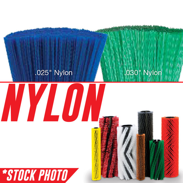 "8-401N: 32"" Cylindrical Brush 6 Double Row Nylon fits Tomcat Models 48, TR, VR"