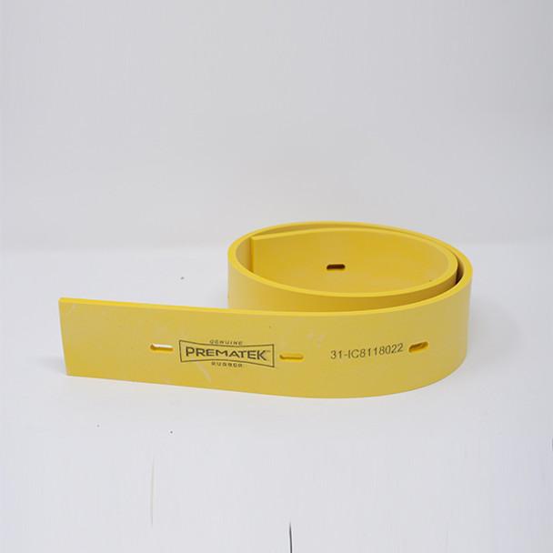 8118022: Squeegee, Rear, Prematek fits International Cleaning Equipment Models i18, i20, i24