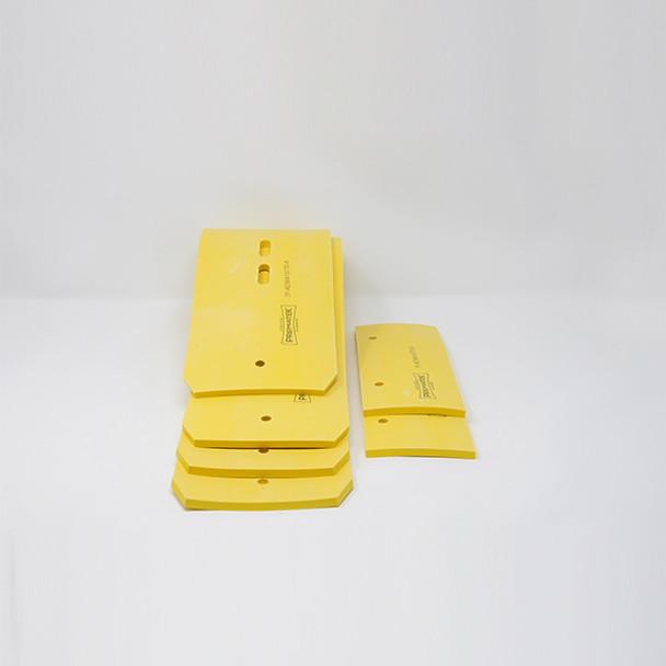 56413770: Squeegee Set, Disk, Prematek fits Advance-Nilfisk Models Condor 4530, Condor 4830, SC6500 45, SC6500 48
