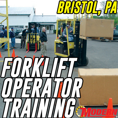 11/02/2018 | Bristol, PA - Forklift Operator Safety Training