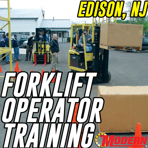 09/05/2018 | Edison, NJ - Forklift Operator Safety Training