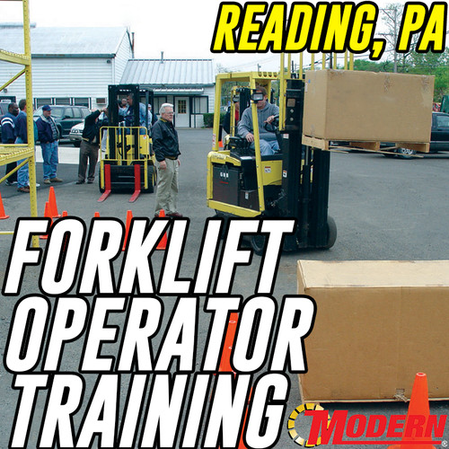 10/09/2018 | Reading, PA - Forklift Operator Safety Training