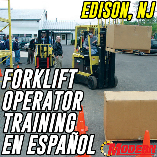 09/10/2018 | en español - Forklift Operator Safety Training - Edison, NJ