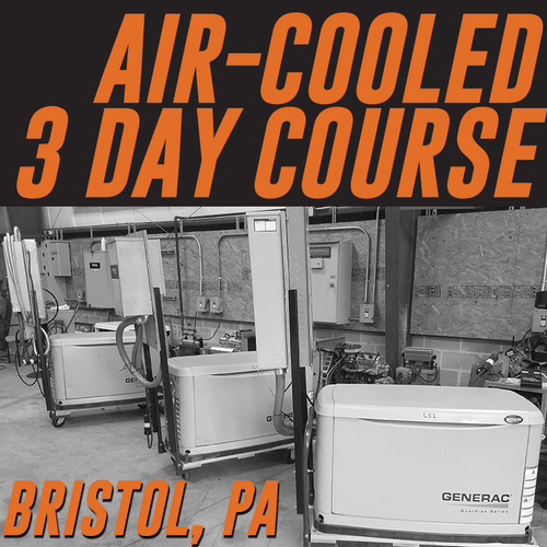 11/7/2018-11/9/2018 | Bristol, PA - Generator Air-Cooled 3 Day Course Field