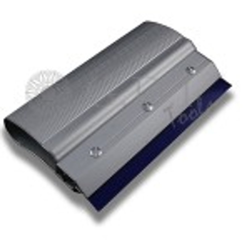 GT042 – 8″ Silver Security Squeegee Comfortable, ergonomic handle is designed especially for security film installation. Curved handle applies more pressure to surface, reducing fatigue and ensuring easier, better installations. Blade is replaceable with either the Security Squeegee (GT041), Flatfoot (GT059) or Pro Squeegee (GT061) blades.