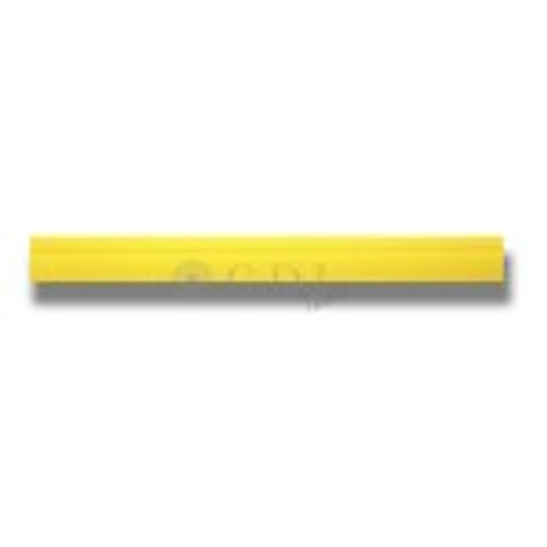 "18 1/2"" Yellow Turbo Squeegee Blade"
