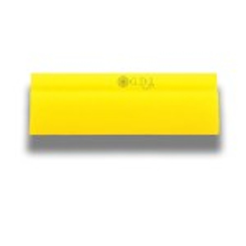 """5"""" Yellow Turbo Squeegee Blade"""