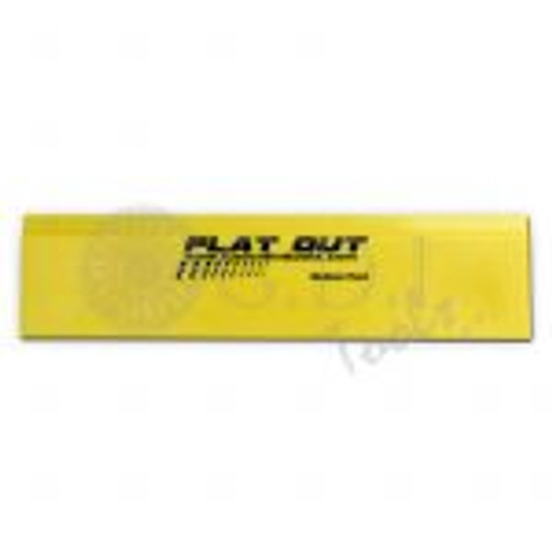 "8"" Yellow Flat Out Blade"