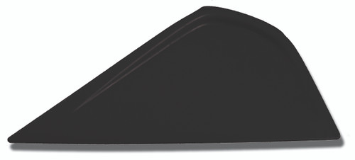 GT044BLACK – Black Little Foot  This squeegee measures about 6″ (15 cm) along the usable edge. The pointed edge of this tool allows the installer to squeegee in very tight areas. The Little Foot has plenty of room to keep a good grip on the squeegee.