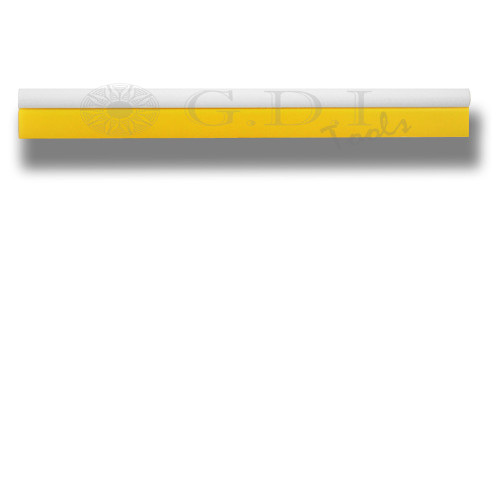 "GT145S – 18 1/2"" Soft Dark Yellow Turbo Squeegee"