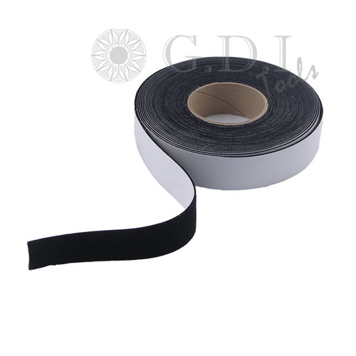 GT078 – 1 1/2″ Wide Black Acrylic Felt